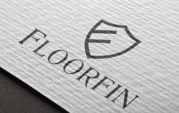 Floorfin logo design