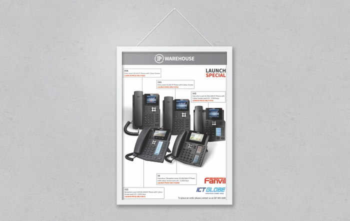 IP Warehouse brochure design